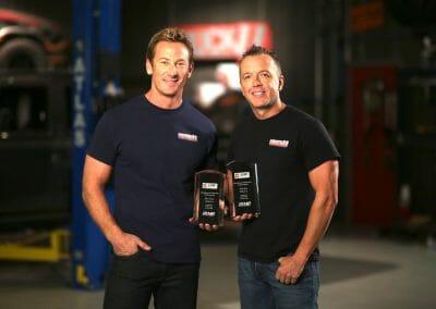 Proudly awarded Bruno Massel & Matt Steele