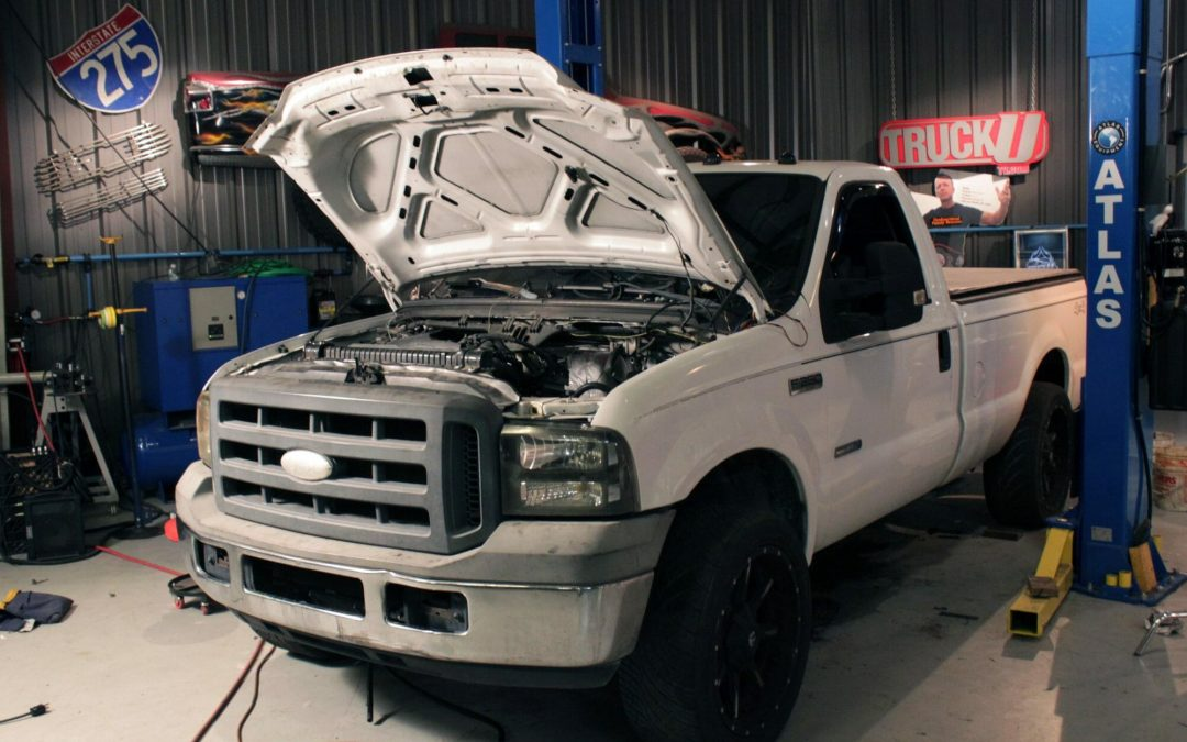 Diesel Drag Truck
