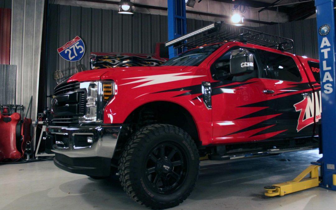 zMAX Training Truck